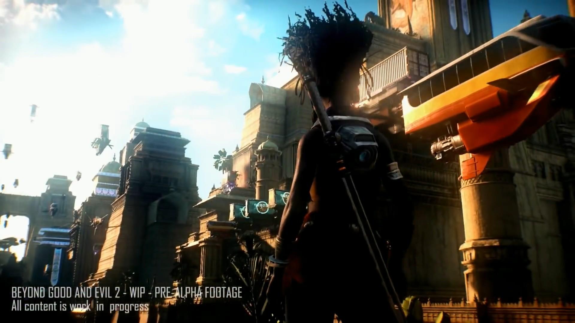 《超越善恶2》直播展示新游戏画面 近身搏斗激烈空战