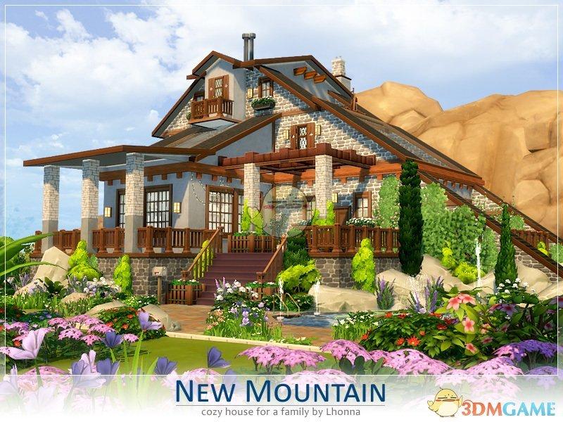 《模拟人生4》山上豪华别墅MOD