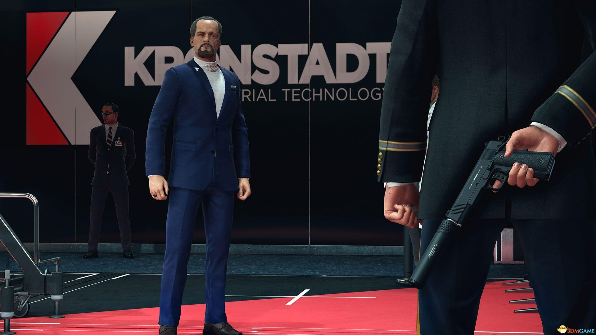光头花样暗杀 《杀手2》官方中文黄金版Steam正版分流