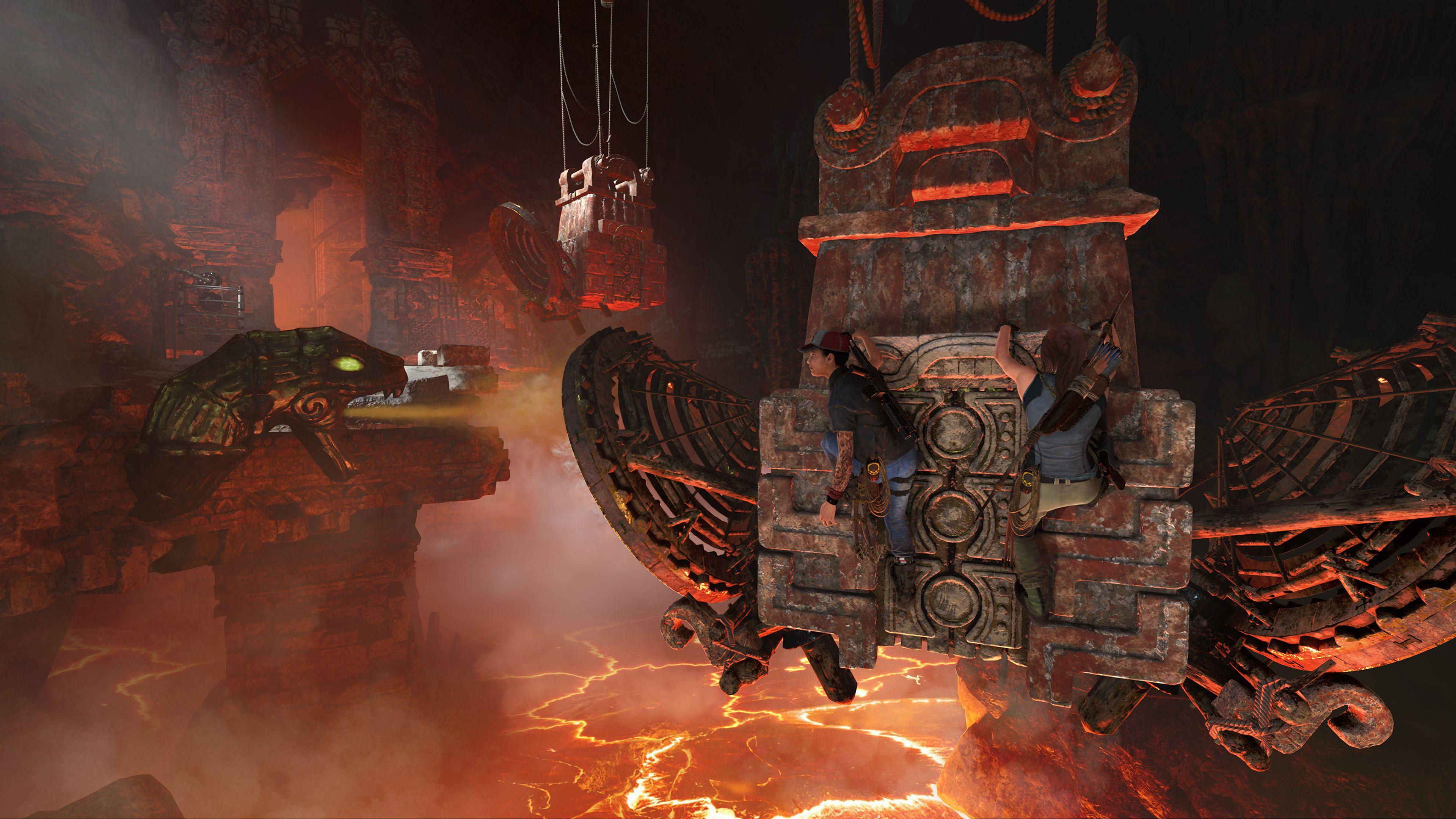 《古墓丽影:暗影》DLC熔炉新视频 11月13日正式上线