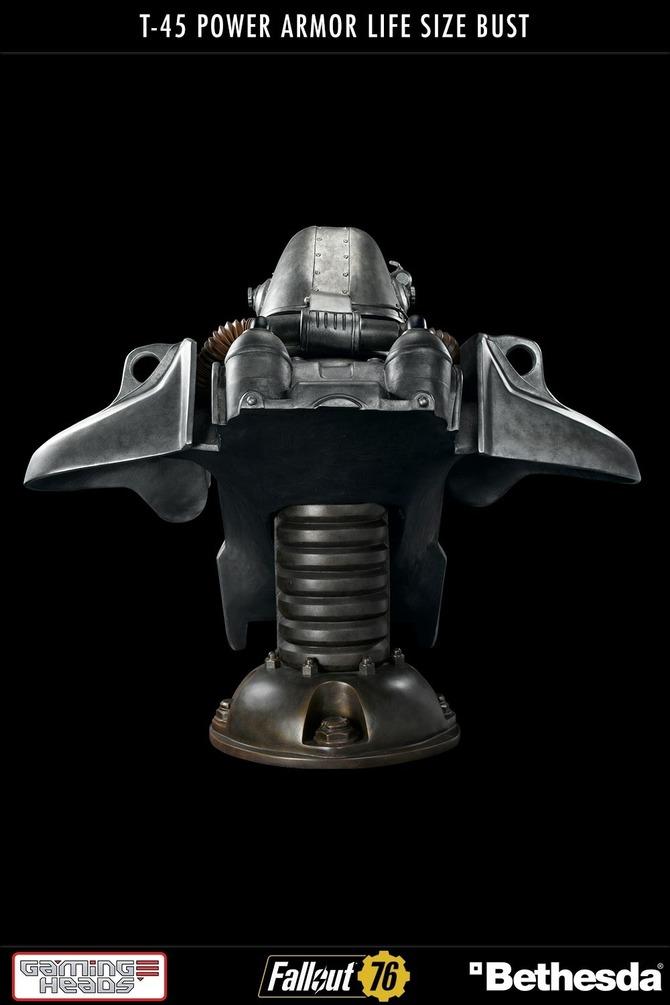 机械感爆表!全球限量500《辐射》T-45实大胸像预购开启