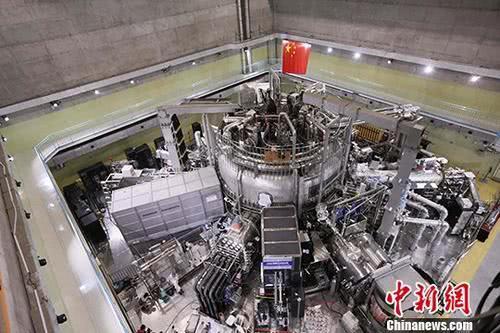 """<b>中国""""人造小太阳""""装置已实现电子温度1亿摄氏度</b>"""
