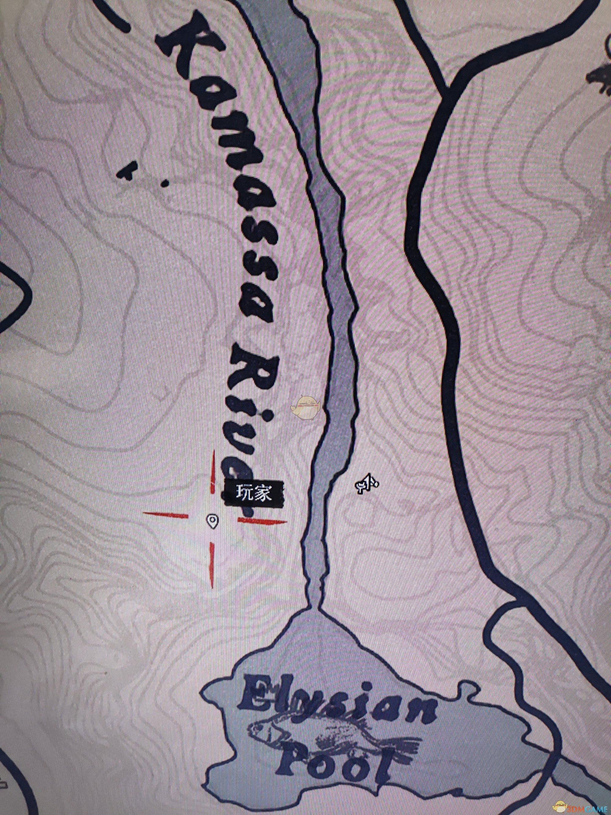 《荒野大镖客2》安尼斯堡藏宝图宝藏位置分享