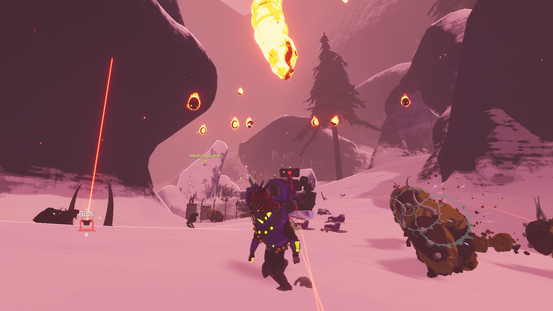 横版游戏《雨中冒险2》公布 2D变3D游戏画面大升级