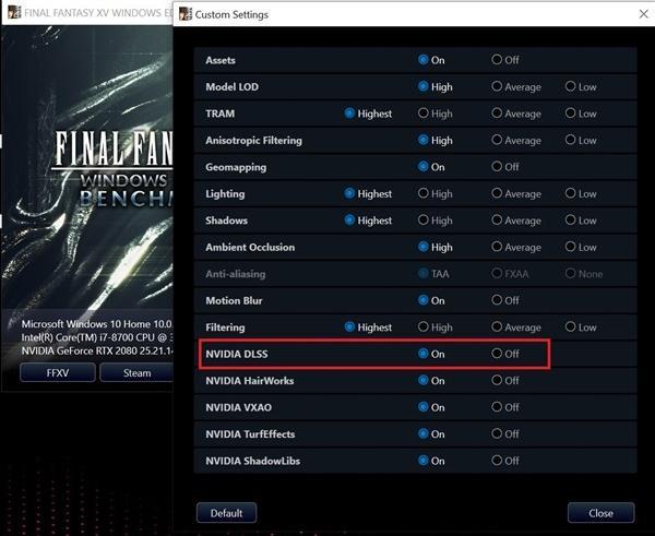《最终幻想15》PC版将追加DLSS 性能提升38%