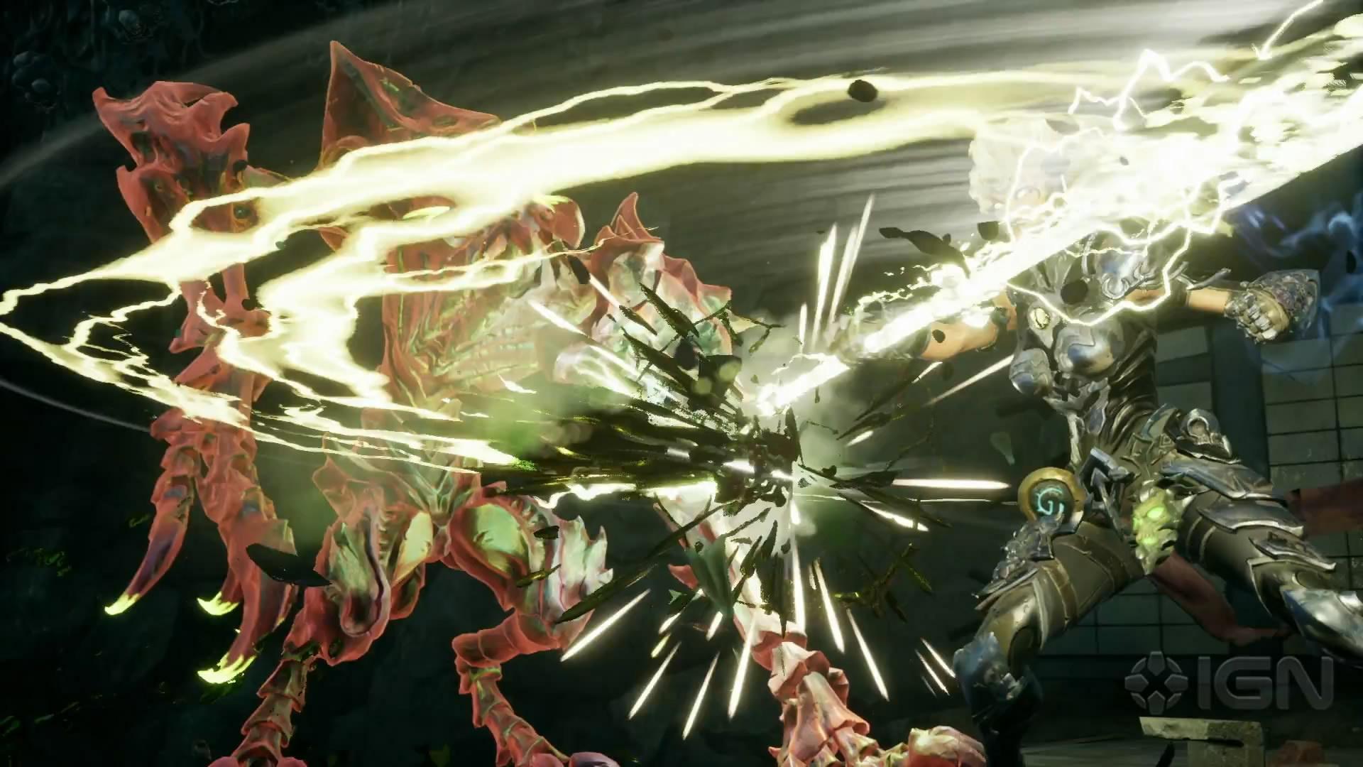 《暗黑血统3》全新预告片 女神手舞长鞭大杀四方