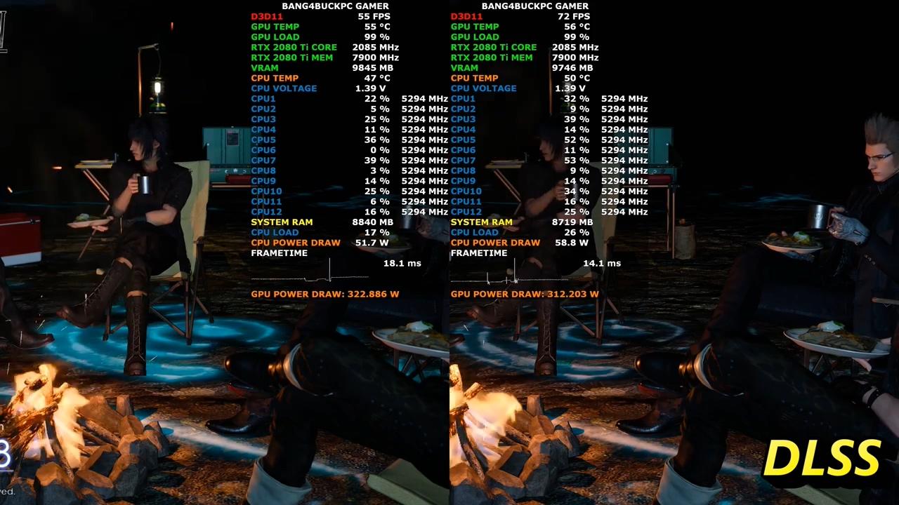 《最终幻想15》 PC版将追加DLSS 性能提升38%