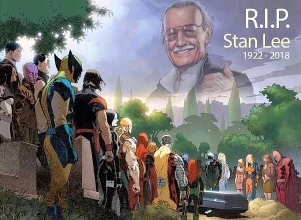 复联六位老成员买整版广告悼念斯坦李 DC索尼也参与