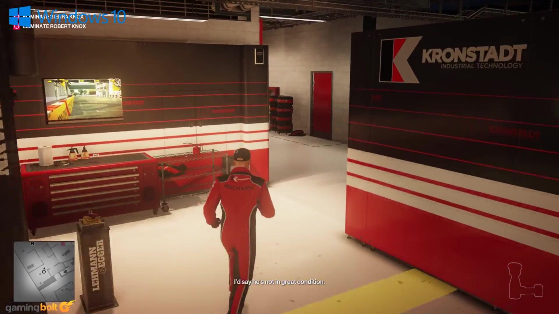 《杀手2》三大平台画质对比 最真实的性能体现