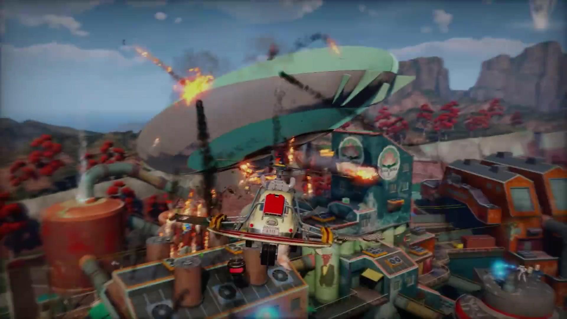 独占大作打破壁垒 《日落过载》Steam版上市宣传片赏