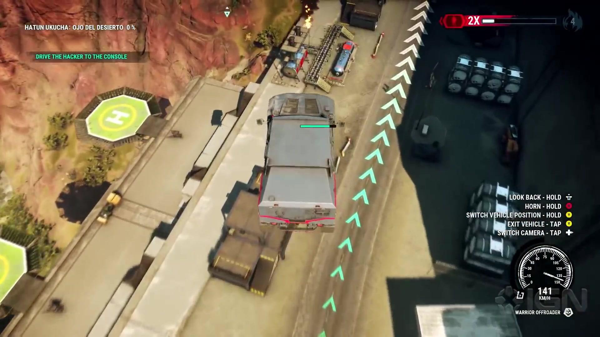制造混乱反抗压迫 《正当防卫4》实机演示视频欣赏
