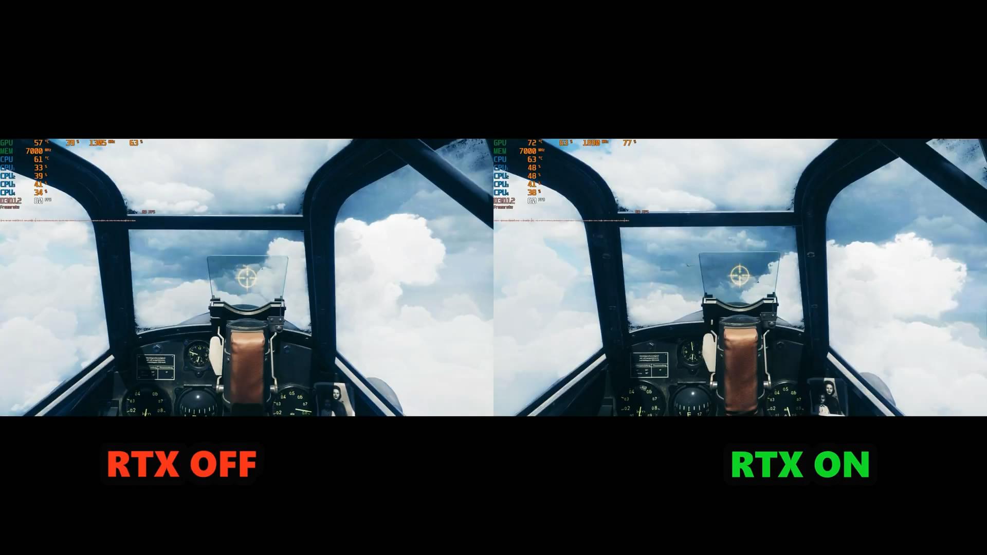 《战地5》光线追踪开启与不开启画面对比 差别大吗?