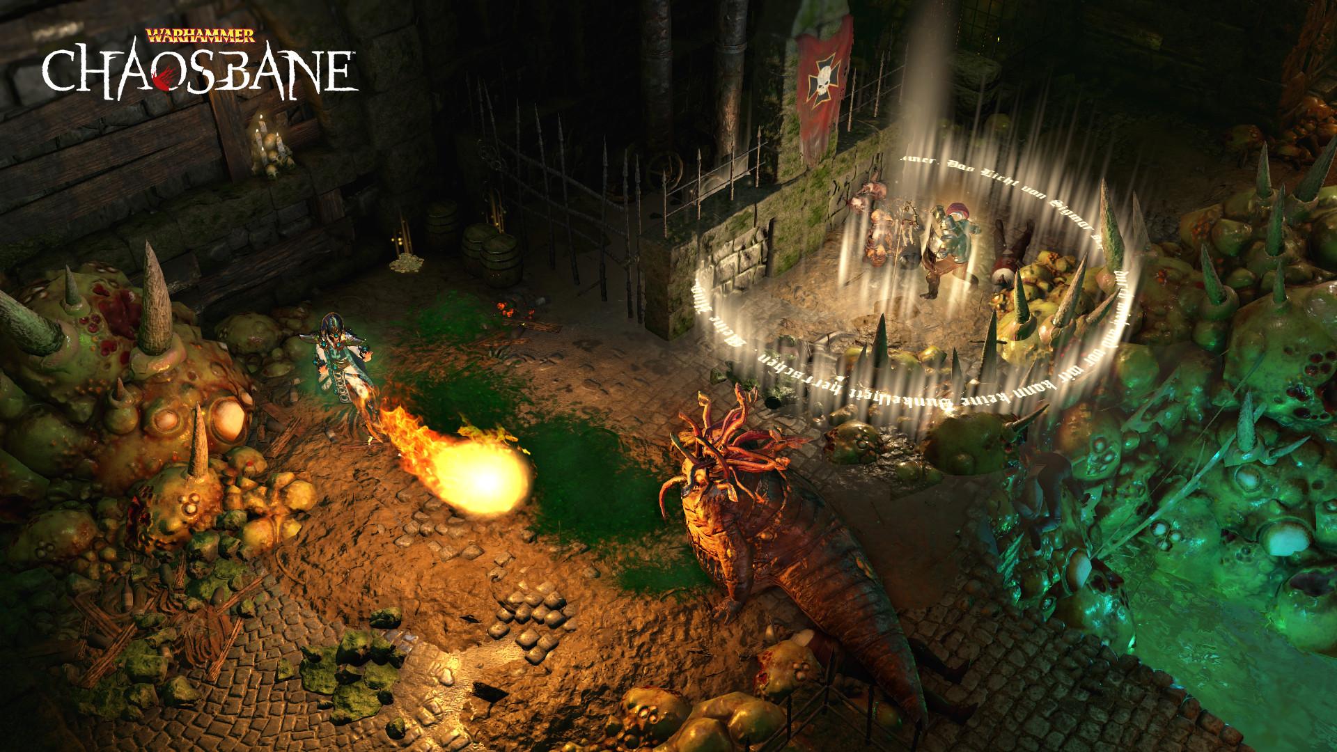 战锤ARPG《战锤:混沌祸根》PC配置需求 支持简中