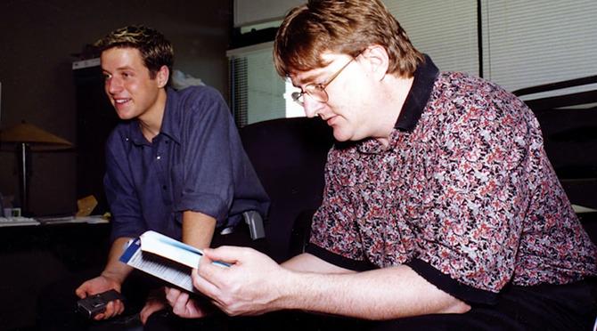 青涩的G胖 《半条命》诞生20周年纪念纪录片预告放出