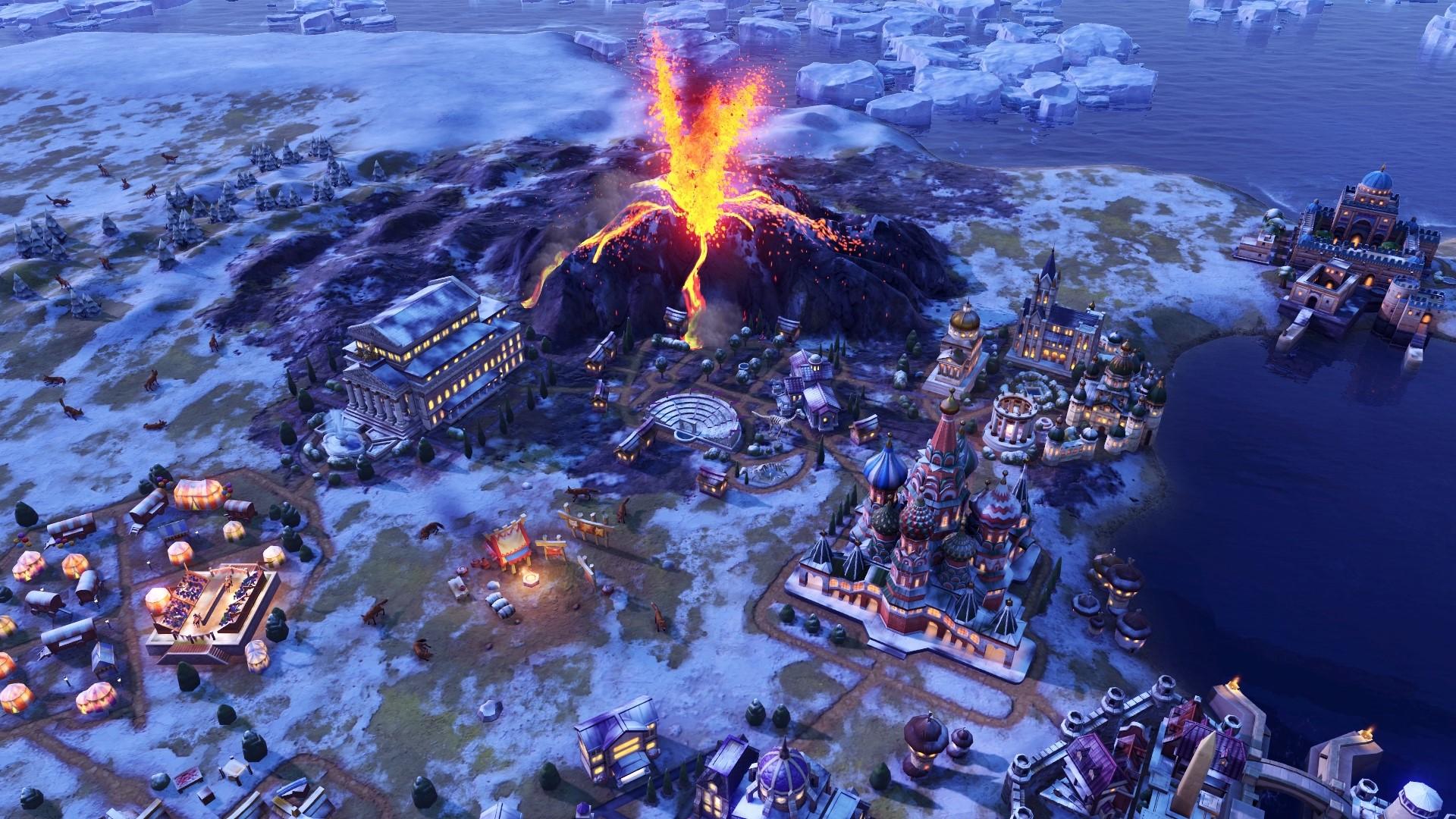 《文明6:风云变幻》新情报 气候变幻莫测影响世界