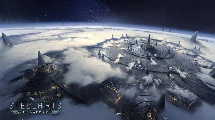 """企业帝国 《群星》新DLC""""MegaCorp""""12月6日发售"""