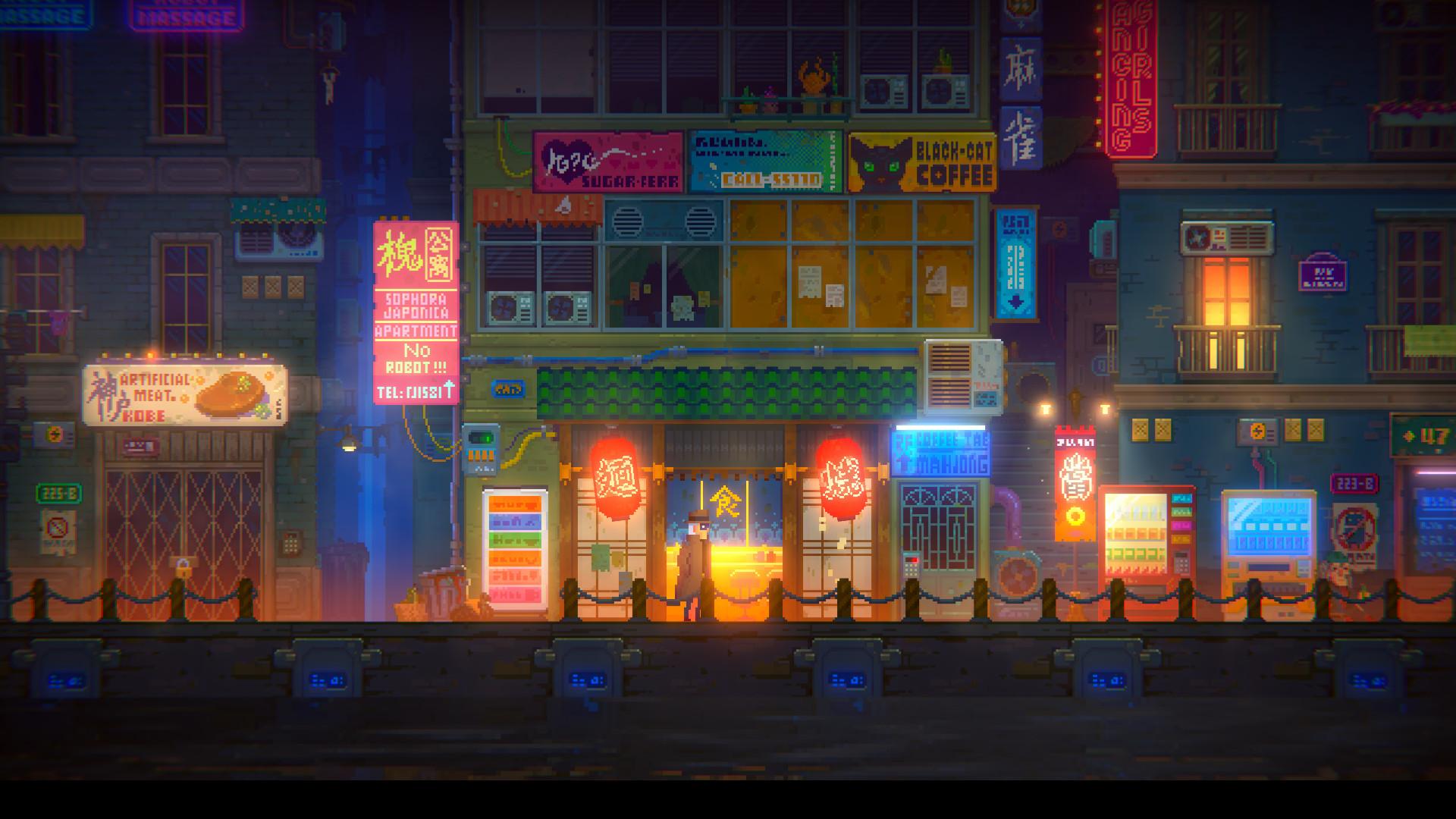 国产像素冒险游戏《迷雾侦探》免费Demo上架Steam