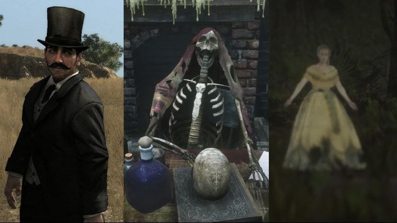 《荒野大镖客2》诡异彩蛋视频 UFO外星人吸血鬼等登场