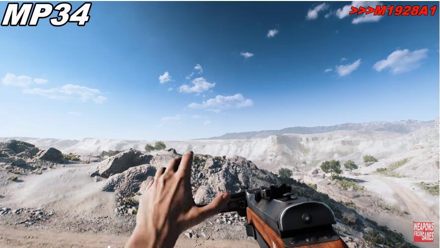 《战地5》全武器瞄准与击发音效展示 逼真还原