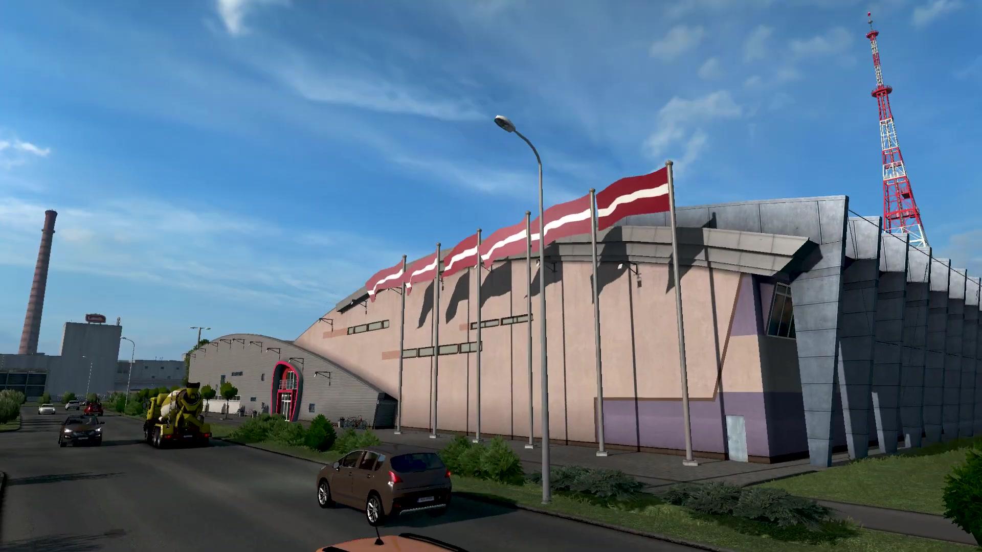 """《欧洲卡车模拟2》新DLC""""波罗的海彼岸""""下周上线"""