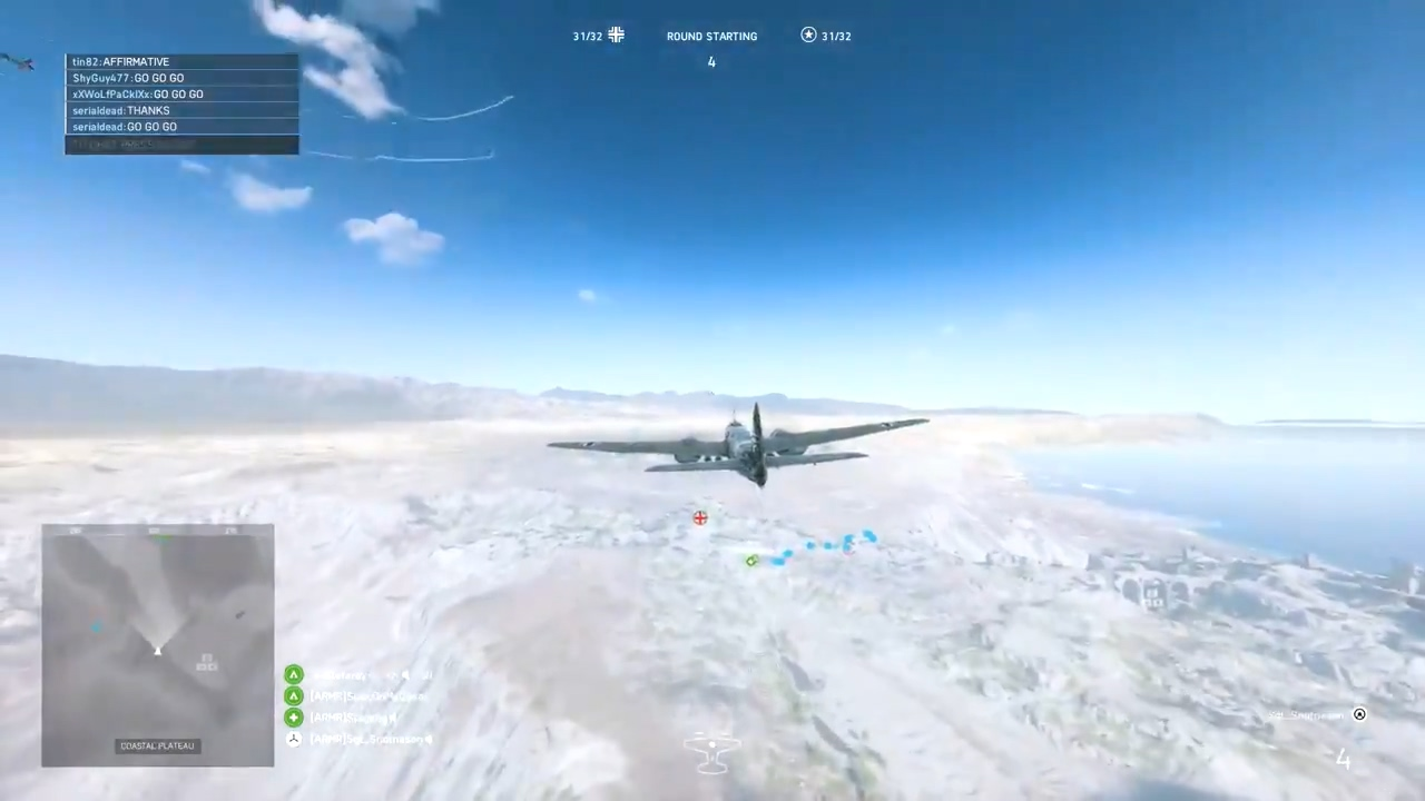 《战地5》JU88轰炸机太强势 国外玩家呼吁削弱