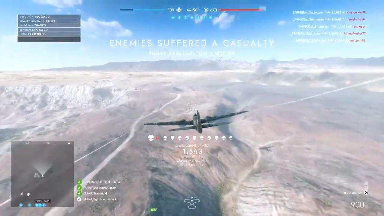 《战地5》JU88轰炸机太强大势 海外面玩家号召吁削绵软弱