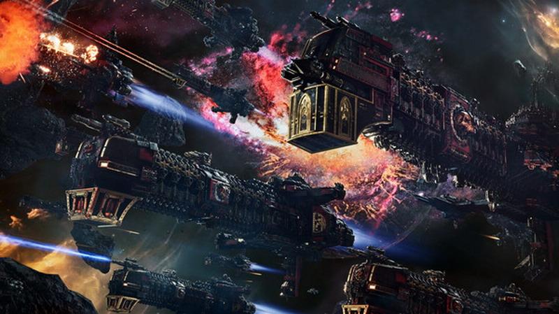 《哥特舰队:阿玛达2》新情报 战斗比一代更庞大激烈