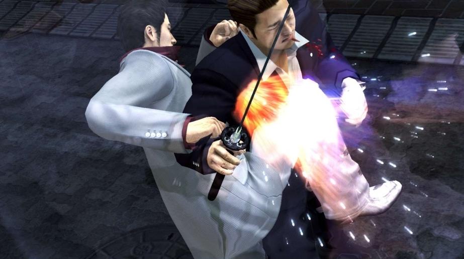 依然火爆  PS4版《如龙4:传说的继承者》最新战斗系统截图