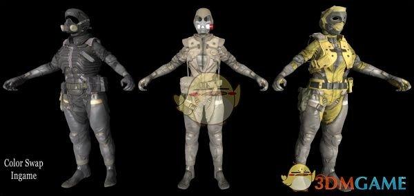 辐射4 幻痛性感骷髅兵套装MOD