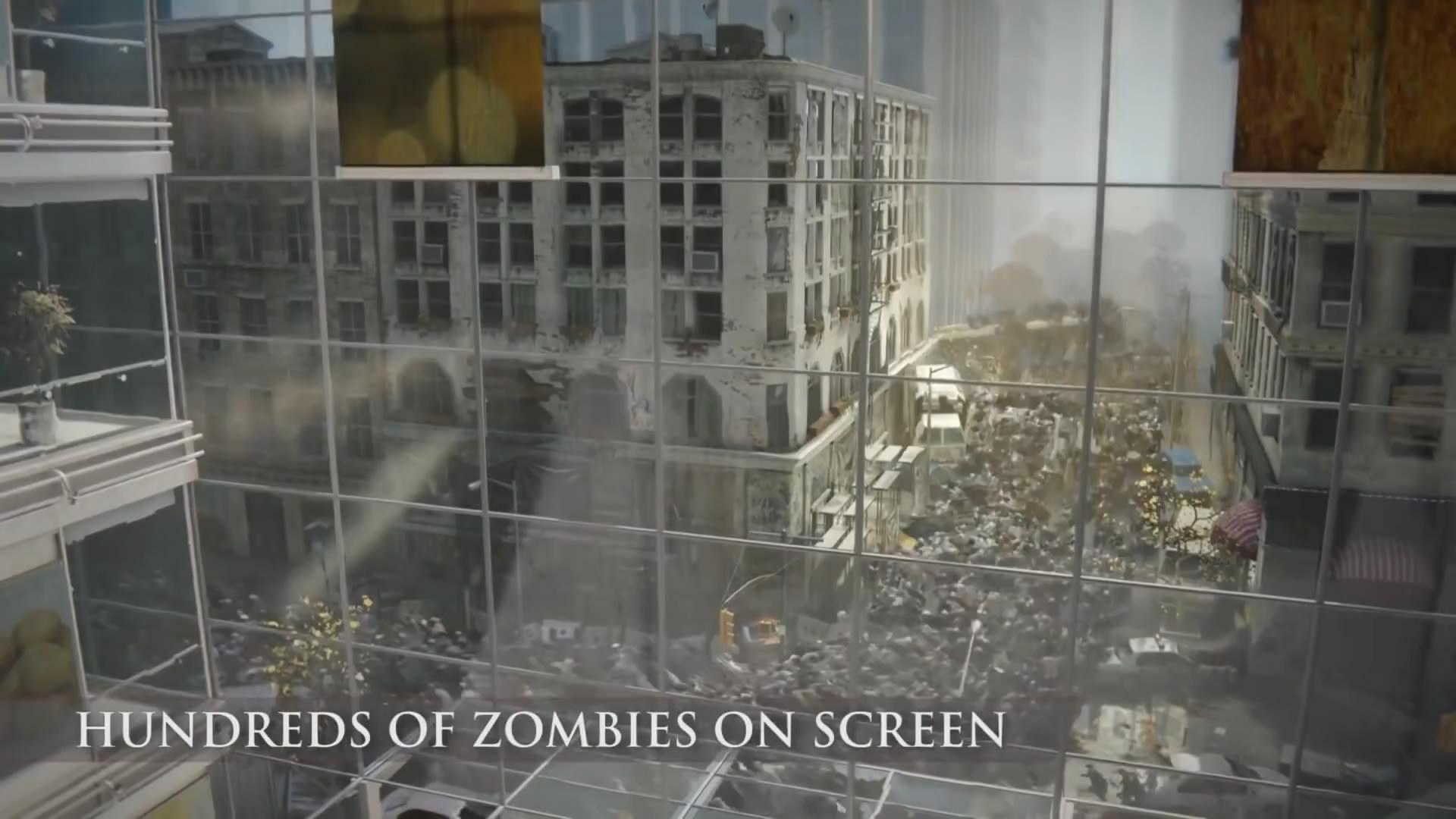 《僵尸世界大战》18分钟演示视频 尸潮涌来玩家心好慌