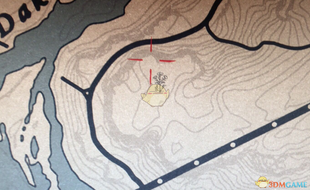 《荒野大镖客2》OL版本10级藏宝图大桥宝箱位置分享