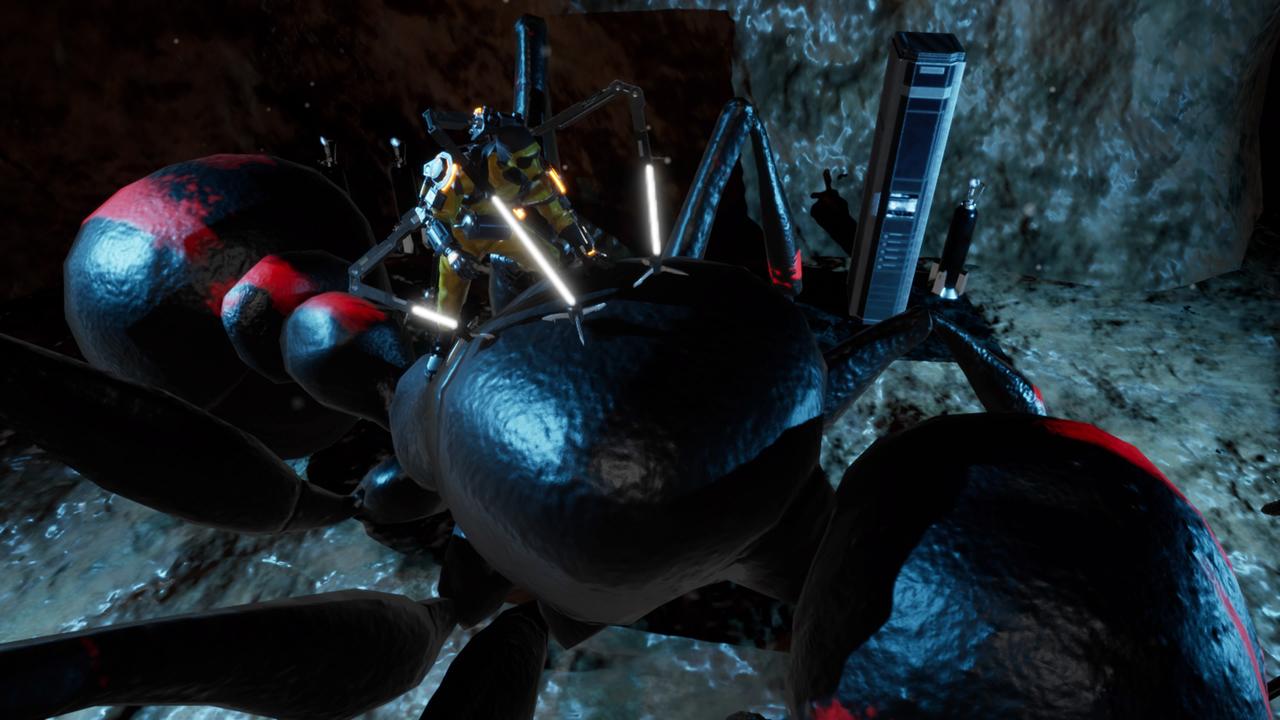 尖锋对决异形!PS4《地球防卫军:铁雨》最新敌方兵器与怪物公开