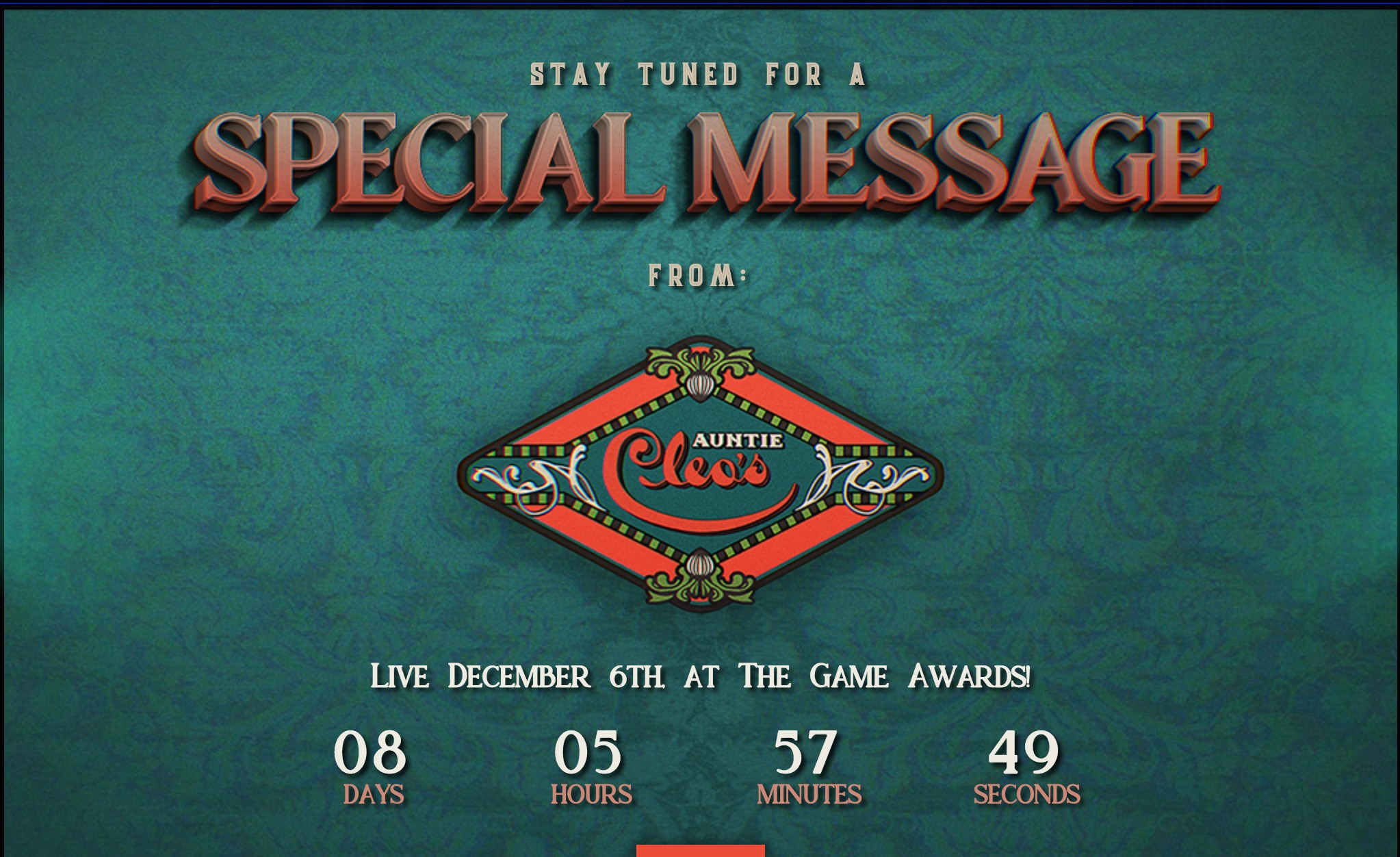 黑曜石娱乐将会在下周TGA上公布一款新游戏
