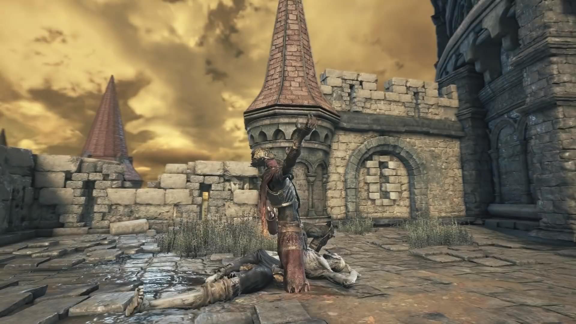 玩家发现《黑暗之魂3》删减内容 插剑献祭可建立篝火
