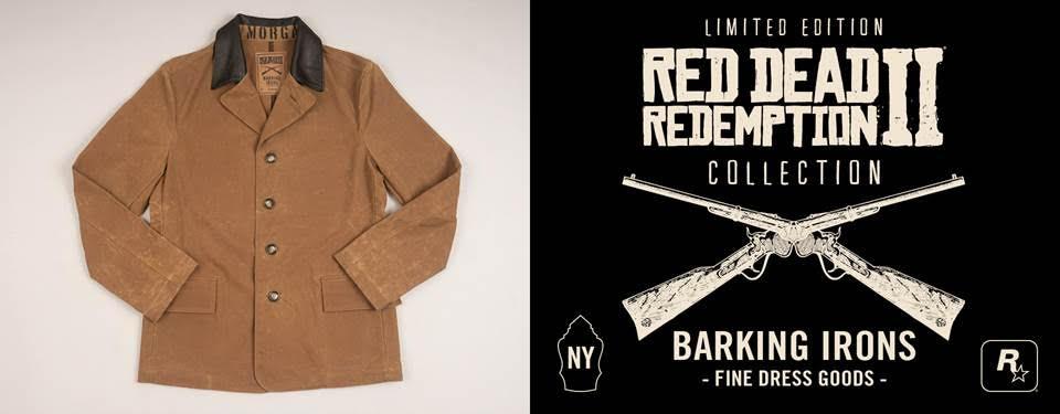 《荒野大镖客2》 周边服装推出 现实版枪手夹克真酷