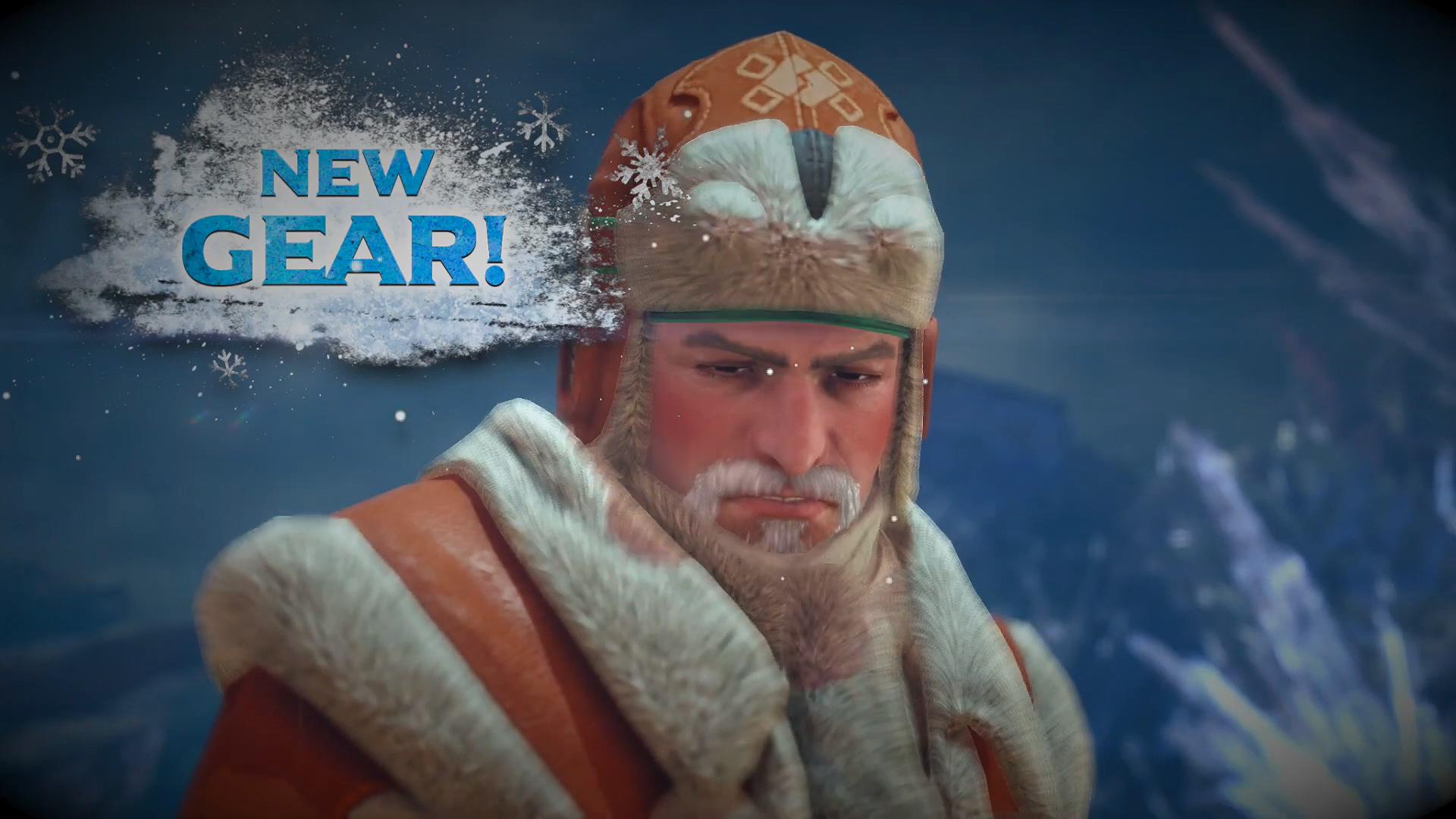 盛装过节! 《怪物猎人:世界》 冬季活动全平台开启