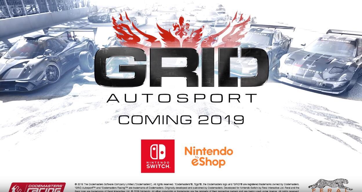 迟来的移植 《超级房车赛汽车运动》2019年登陆switch