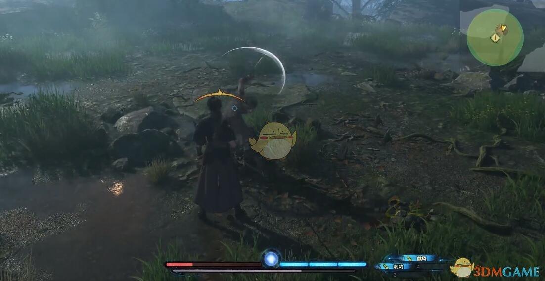 《古剑奇谭3》BOSS贺冲招式动作详解