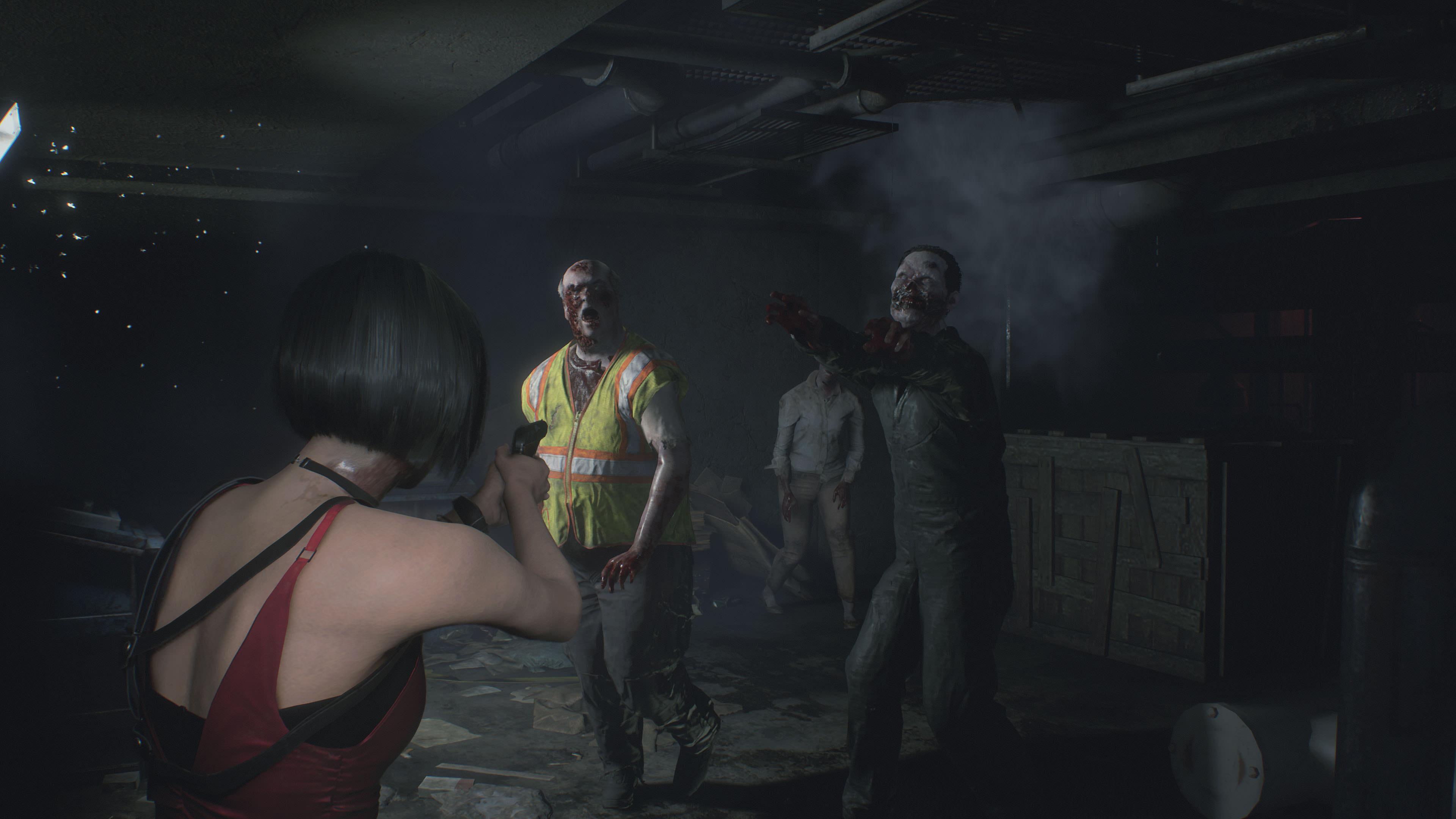 《生化危机2:重制版》海量截图泄露 艾达王性感上线