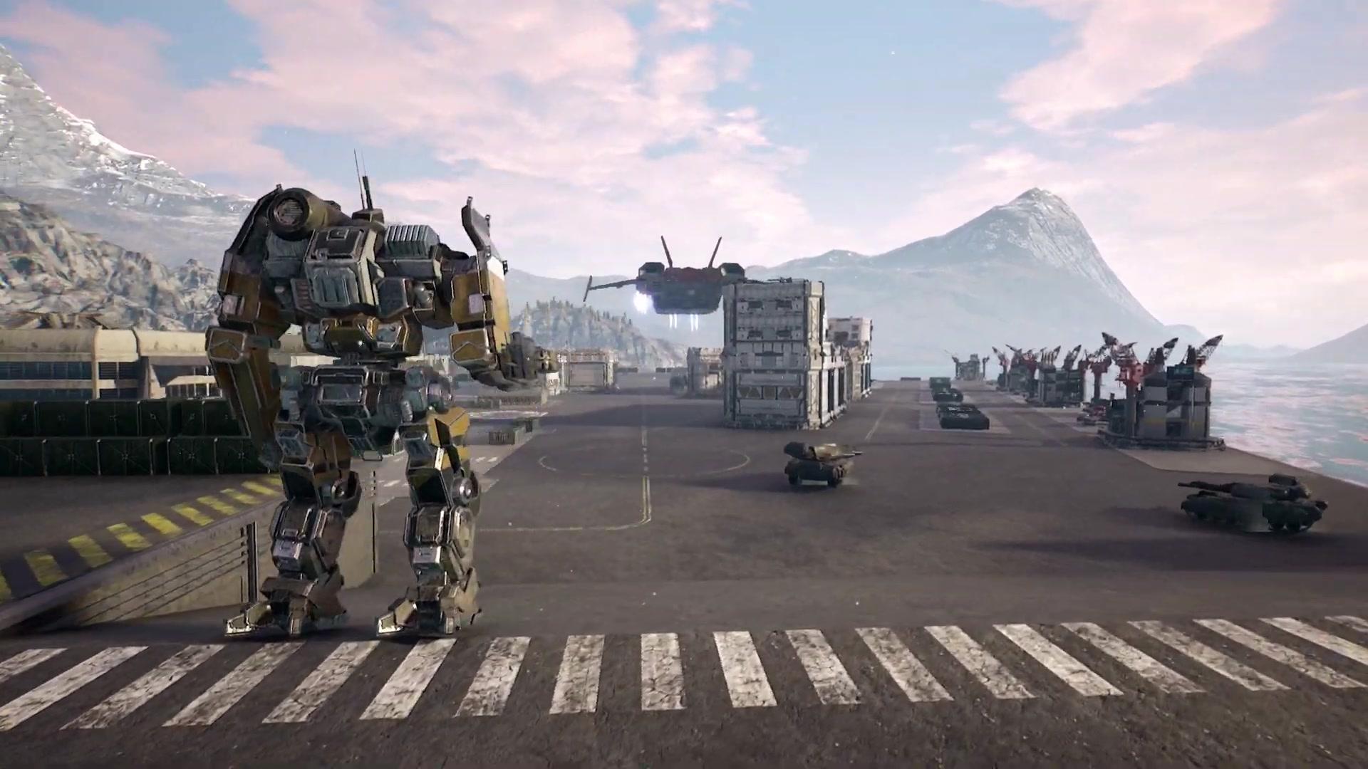 《机甲战士5:雇佣兵》 2019年9月发售 最新预告片赏