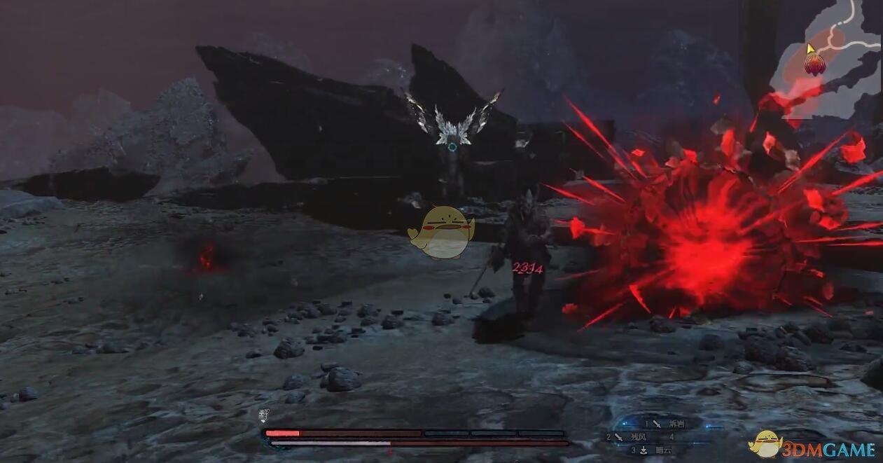《古剑奇谭3》BOSS苍翎魔羽招式动作详解