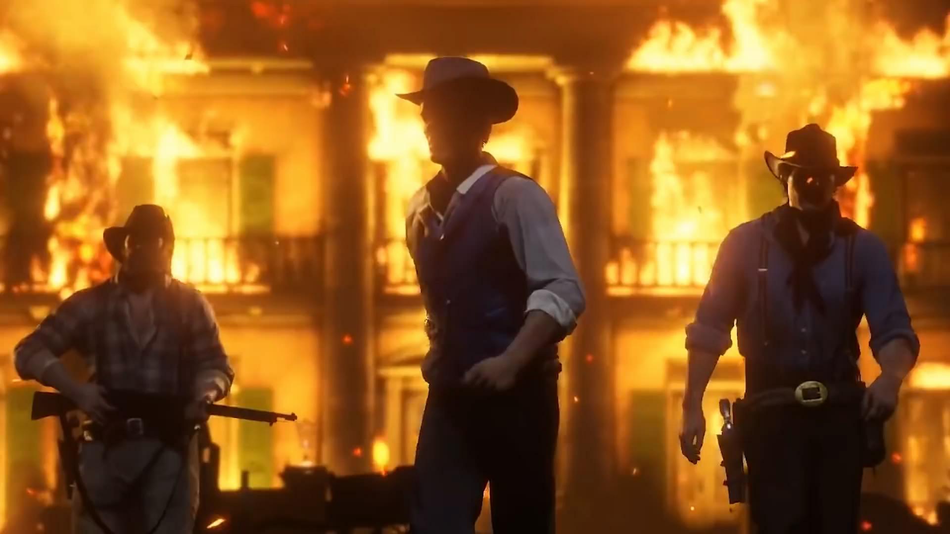 TGA 2018宣传片 《美国末日2》《大镖客2》等登场