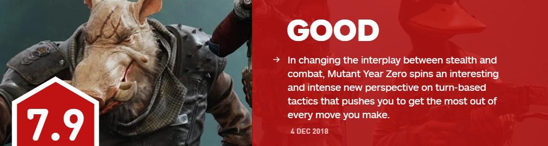 回合制游戏新时代 《突变元年:伊甸之路》IGN7.9分