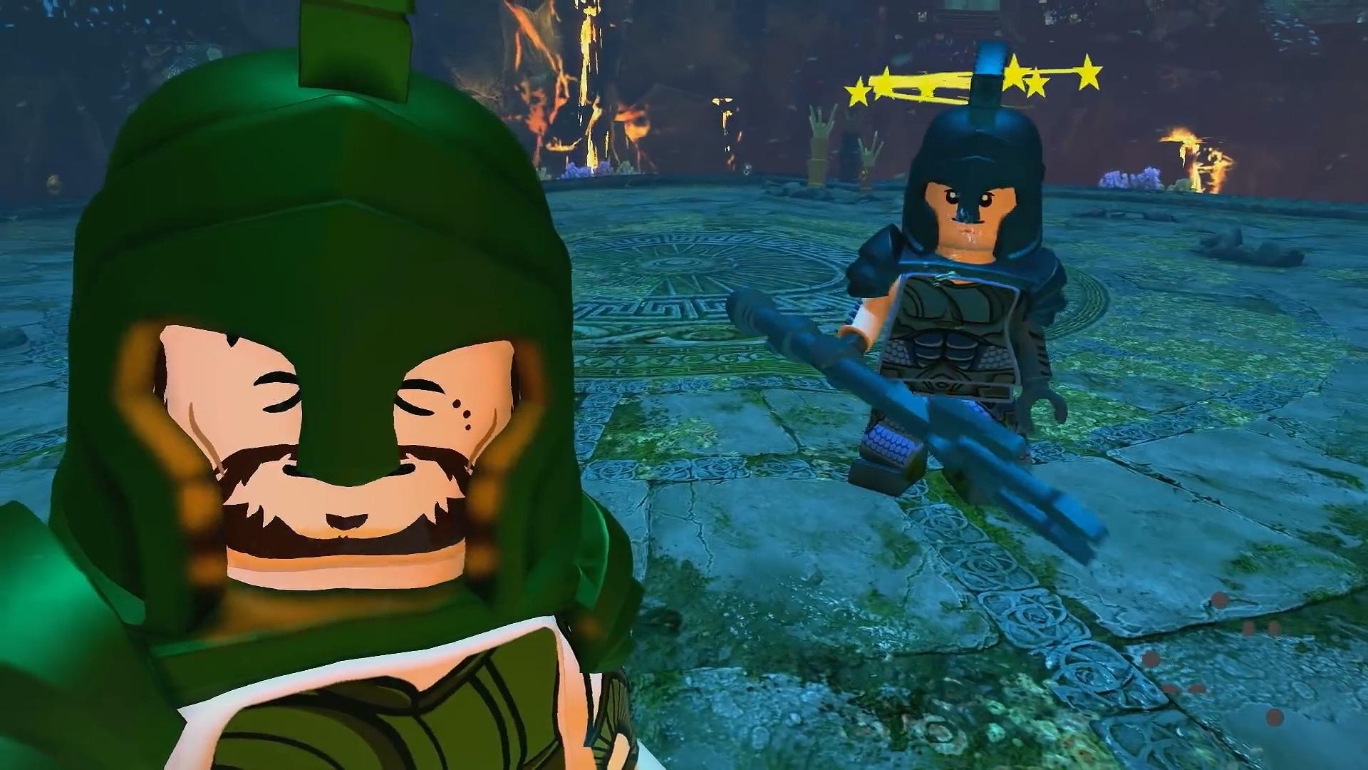 海王現身親身推行《樂高DC超級反派》海王DLC