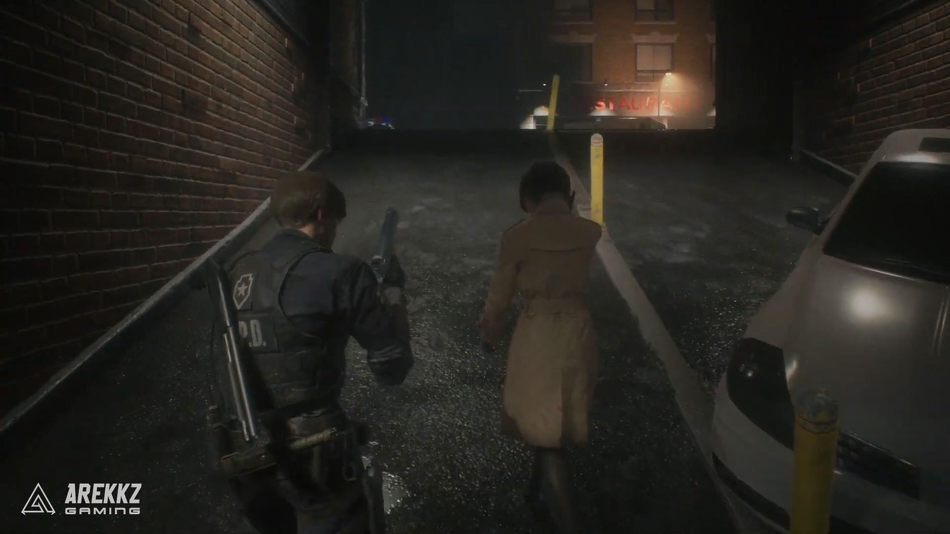 《生化危機2重制版》20分鐘超長試玩錄像 三主角對立變異BOSS