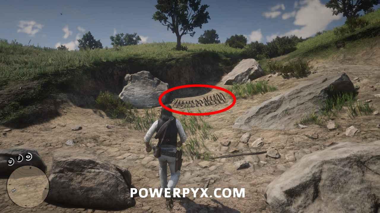 《荒野大镖客2》恐龙骨头全搜集 恐龙化石全搜集攻略共享