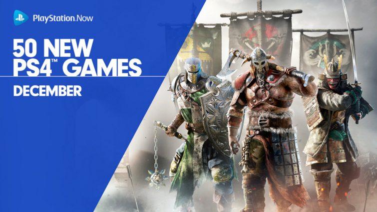 12月50款遊戲加入PS Now服務 《榮耀戰魂》領銜