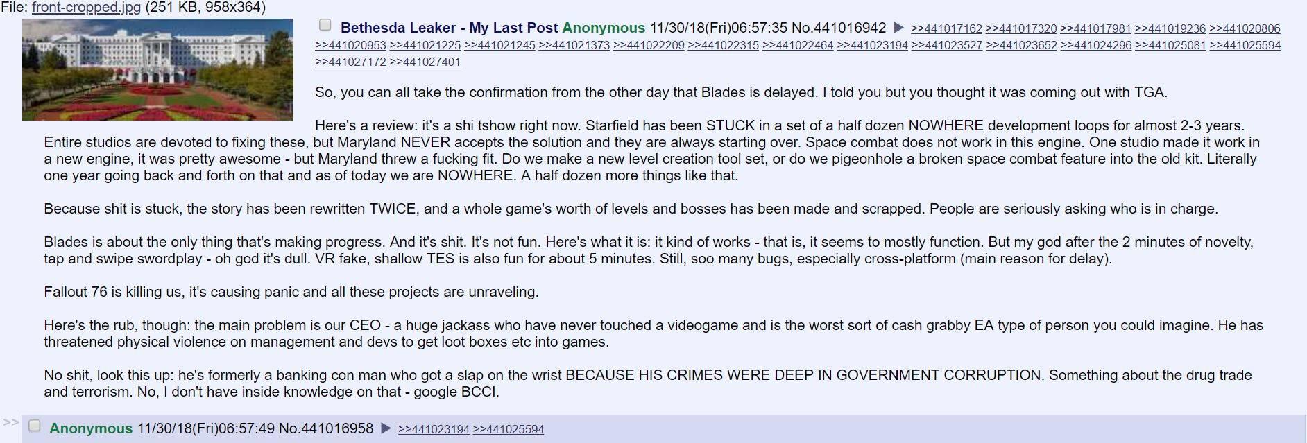 网传B社科幻大作《星空》开发停滞 剧本改了两次!