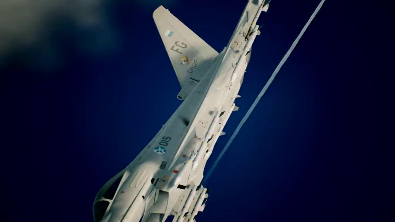 """""""台风""""来袭 《皇牌空战7》战机介绍视频第二部公布"""
