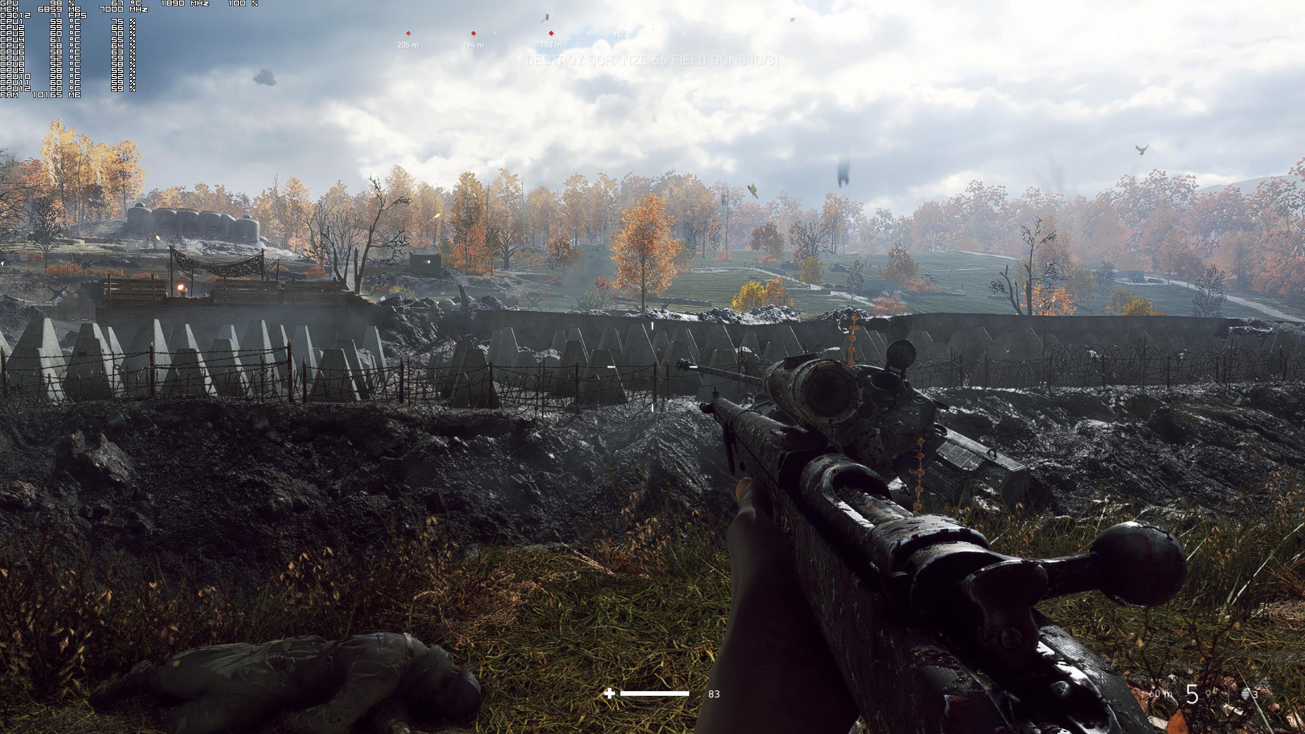 《战地5》更新后光线追踪进步明显 2K分辨率能达60帧